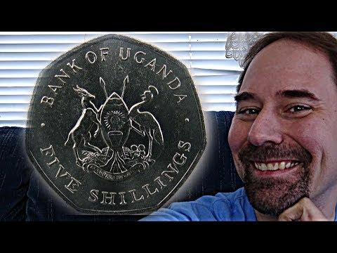 Uganda 5 Shillings 1987 Coin