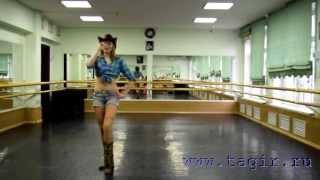 Видео уроки танца живота: Ковбойский танец (3 часть комментарии)