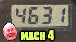 World's FASTEST Airsoft BBs  +MACH 4  - What will they destroy?
