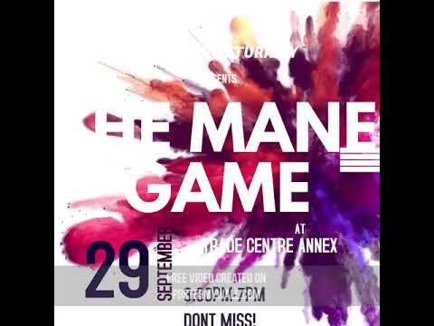 That Mane Game 2018 at the Trade Centre Annex Grenada!!