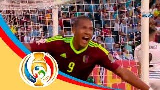 في مفاجأة كبيرة.. فنزويلا تطيح بأوروجواي من كوبا أمريكا.. فيديو | المصري اليوم