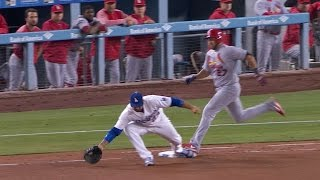 STL@LAD: Seager makes diving stop, out confirmed