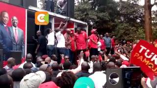 Vote for Jubilee candidates on August 8, DP Ruto urges Kirinyaga residents