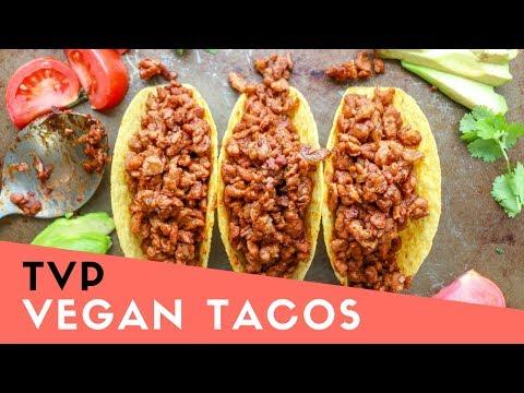 TVP Tacos | The Buddhist Chef