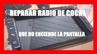 Reparar Radio de coche Android que no enciende