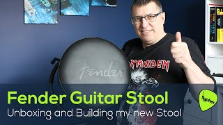 "Unboxing and How To Assemble my new Fender Blackout 24"" Barstool (GUITAR STOOL)."