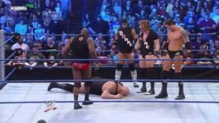 WWE SmackDown 02/11/11 - Ezekiel Jackson Suplex The Big Show (HDTV)