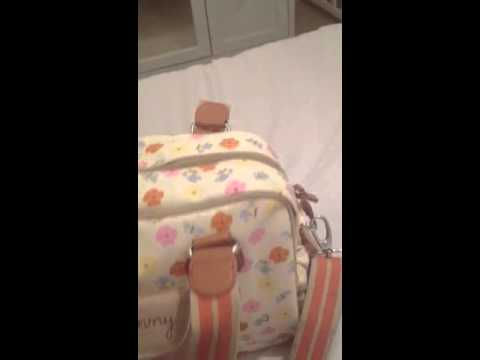 Pink lining yummy mummy bag