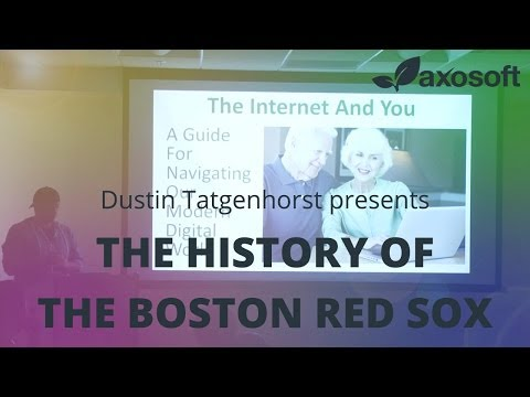 THE HISTORY OF THE BOSTON RED SOX  - AxoTalk Video