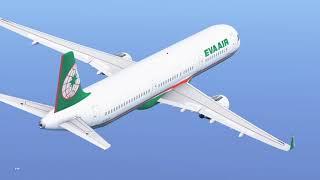 Eva Air A321 | Taoyuan to Hongkong | Autopilot Problem | Infinite Flight Global