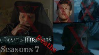 Ölüm Sahneleri / Game Of Thrones 7 sezon
