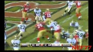 MNF 49ers Game Tying Drive vs. Saints