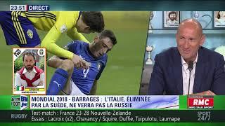 After Foot du mardi 14/11 – Partie 4/4 - Retour sur l'élimination de l'Italie au Mondial 2018