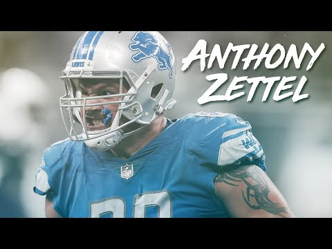 Z-Bone ᴴᴰ || Anthony Zettel 2017-18 Highlight Mix || Detroit Lions DE #69