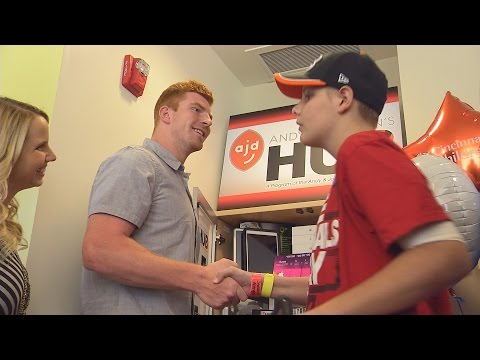 Andy & Jordan Dalton's HUB at Cincinnati Children's