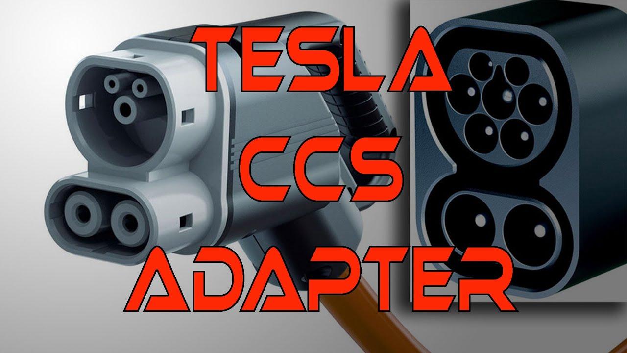 Tesla Ccs Adapter Soon Youtube