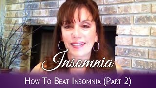 How To Beat Insomnia Part 2 - 3 Biggest Mistakes That Sabotage Your Sleep