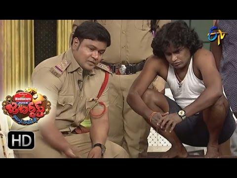 Bullet Bhaskar Sunami Sudhakar Performance | Jabardsth | 6th April 2017 | ETV Telugu
