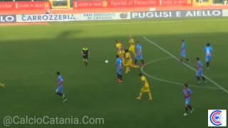 Catania - Martina Franca  2 -0 fine primo tempo
