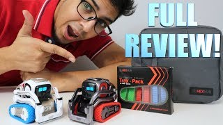 UNBOXING & LETS PLAY! - TRAX PACK for COZMO & COZMO ADVENTURE BAG! - FULL REVIEW!