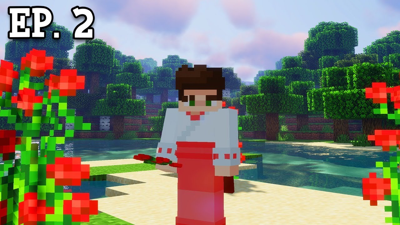 Adventuring w/ Special Visitors?! | Minecraft Monday: Episode 2