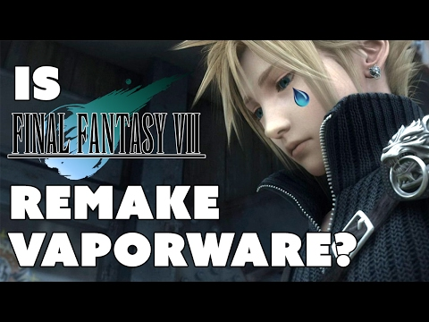 Is Final Fantasy 7 Remake VAPORWARE? - The Know Gaming News