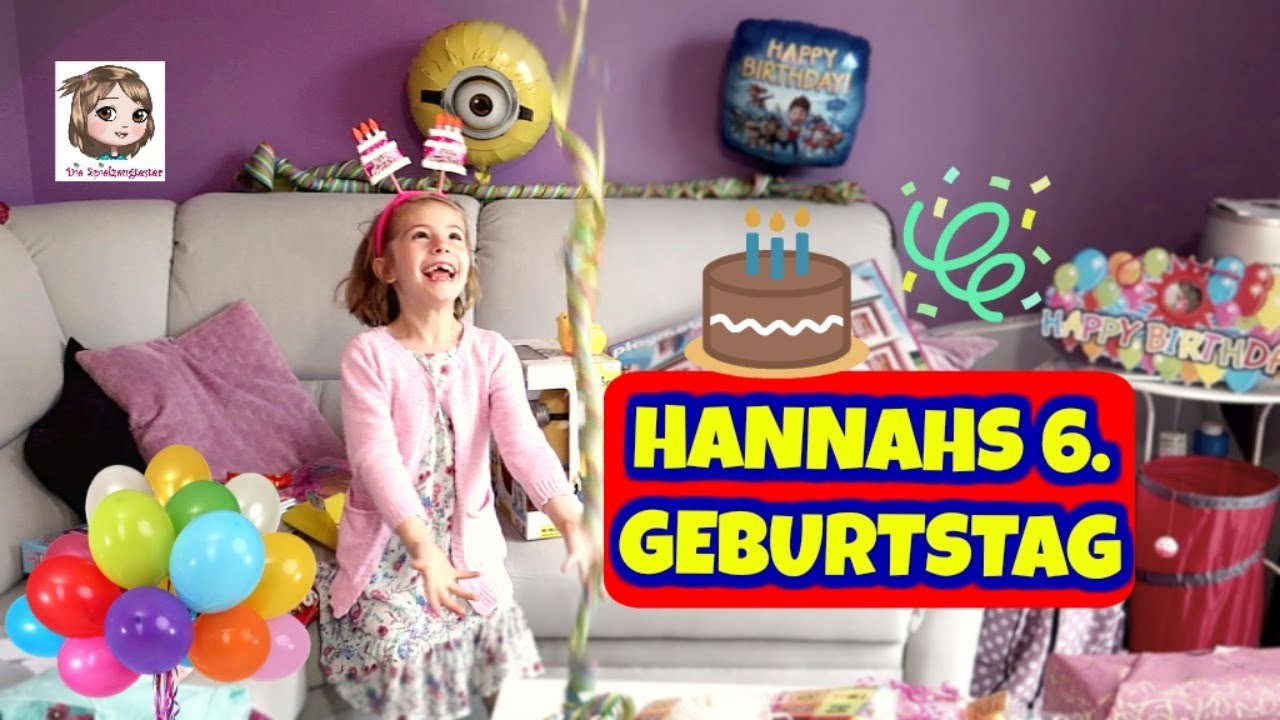 hannahs 6 geburtstag geschenke auspacken hannah. Black Bedroom Furniture Sets. Home Design Ideas