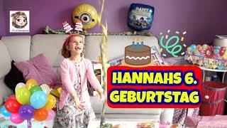 HANNAHS 6. GEBURTSTAG - Geschenke auspacken ♥ Hannah Spezial
