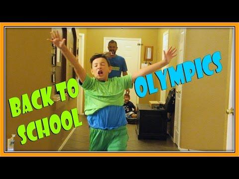 THE BACK TO SCHOOL OLYMPICS | ERIKTV365