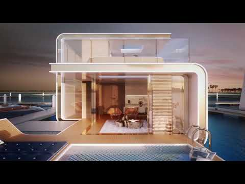 #FLOATING SEAHORSE VILLA | THE HEART OF EUROPE | DUBAI WORLD ISLAND#