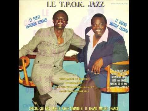 Testament Ya Bowule (original version) & two more from 1986 - Franco & le T.P. O.K. Jazz