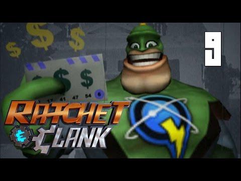 Ratchet & Clank (2002) #9 - Planet Umbris - Qwark's HQ [PS2 Walkthrough]