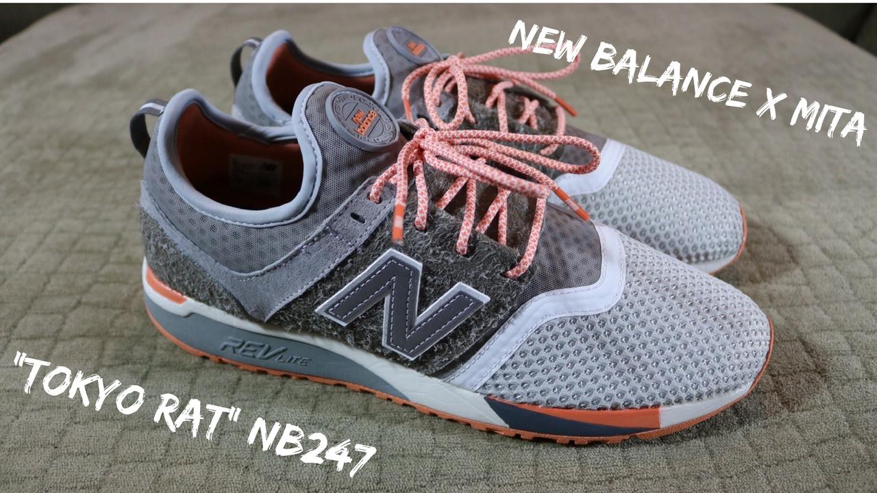 Sneaker Store requirements + New Balance & Mita Tokyo Rat 247
