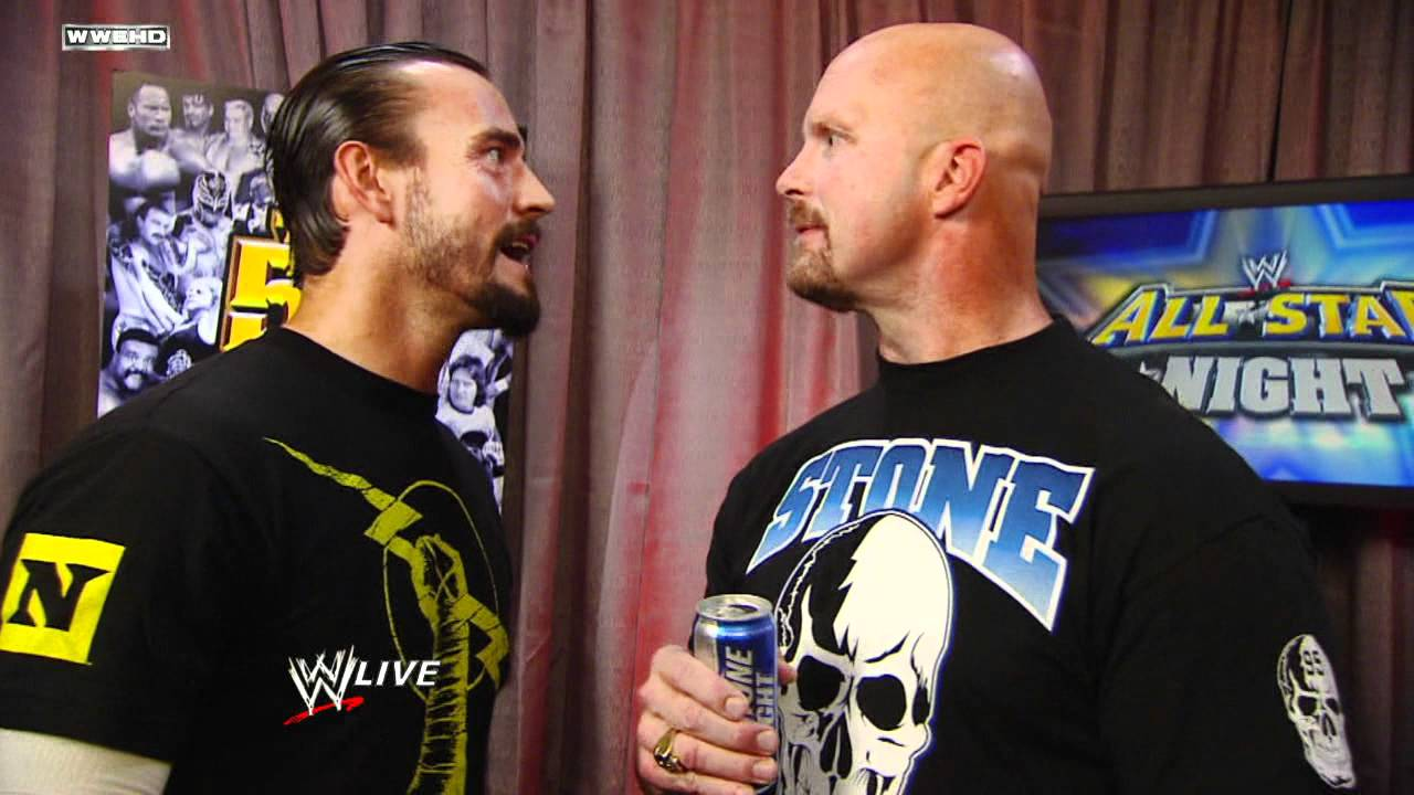 "Raw: CM Punk confronts ""Stone Cold"" Steve Austin - YouTube"