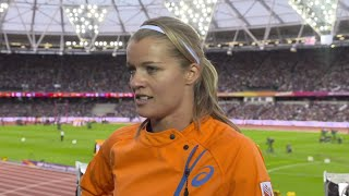 WCH 2017 London- Dafne Schippers NED 200 Metres Heat 1