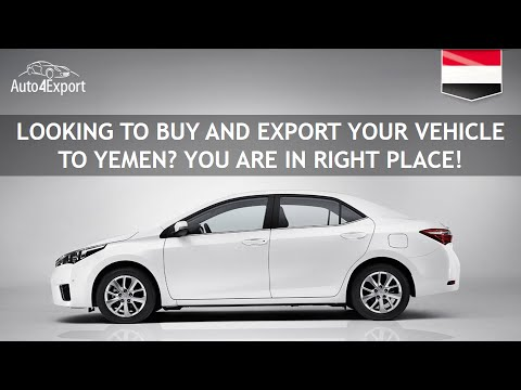 Shipping cars from USA to Yemen - Auto4Export