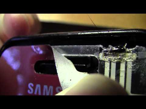как восстановить сенсор от samsung s5230 s5233tv