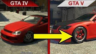THE STRENGTHS OF GTA V 2 - BIG GTA COMPARISON   GTA IV vs. GTA V   PC   ULTRA