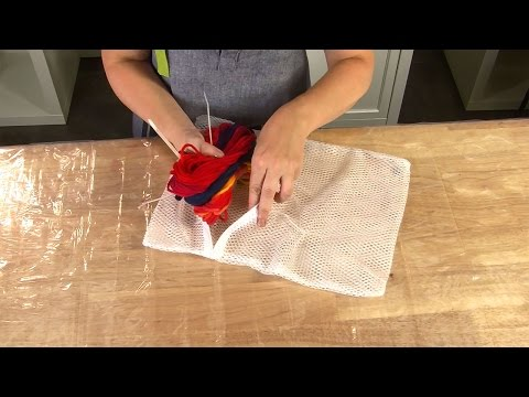 How To Wash Dyed Yarn