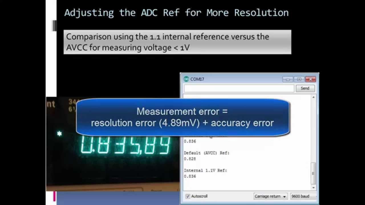 Maximizing Arduino's ADC Resolution and Accuracy Part 1