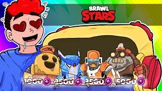 JAK ZDOBYĆ DARMOWE SKINY W BRAWL STARS! | BRAWL STARS /w Hadesiak