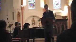 Dichterliebe, R.Schumann, Omar Benamara/Nadia Seguy