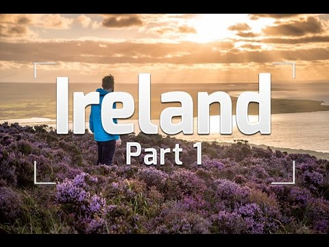 SURFING IN IRELAND - IRELAND TRAVEL VLOG #1