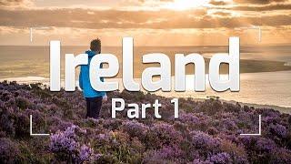 SURFING IN IRELAND - IRELAND TRAVEL VLOG #1