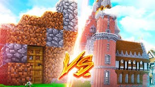 NOOB SCHLOSS vs. LUXUS SCHLOSS! (Minecraft)