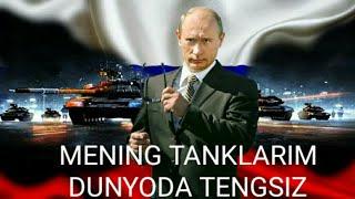 Rossiya aqlbovor qilmas darajada tank to'pladi. Rossiya haqida ma'lumot.