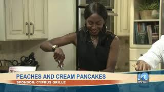 Peaches and Cream Pancakes -Full Segment