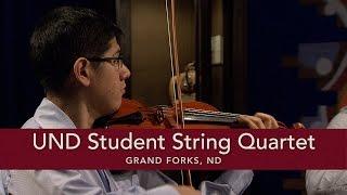 UND Student String Quartet Allegro Molto