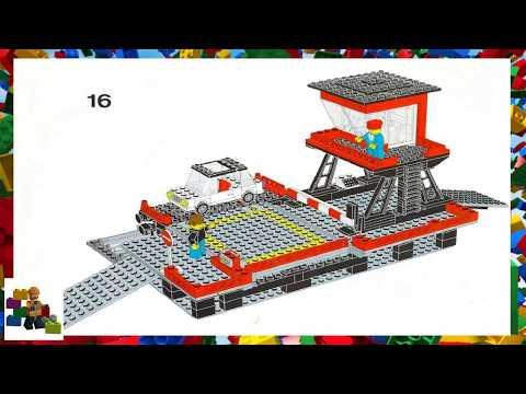 LEGO instructions - Trains - 7839 - Car Transport Depot