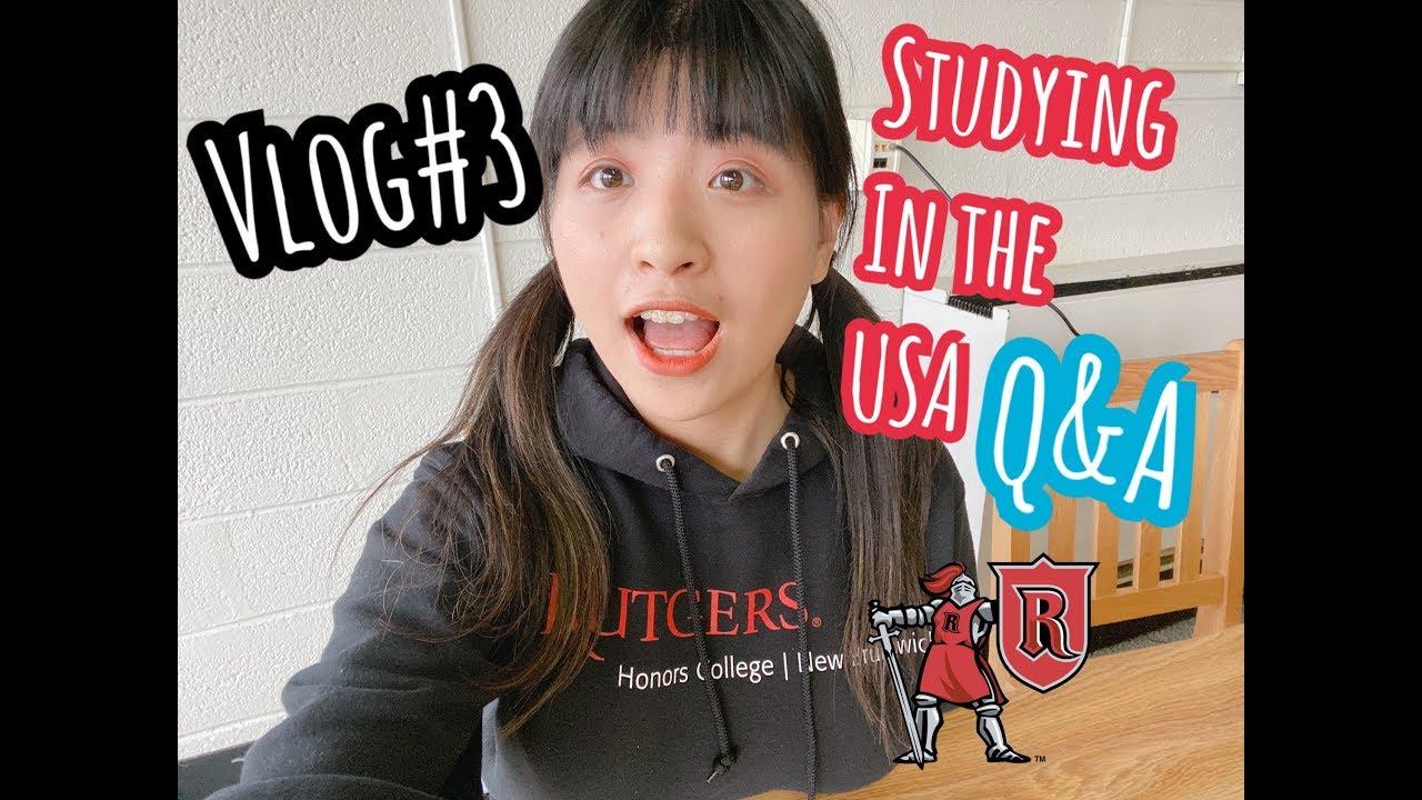 Vlog#3 美國留學如何選學校?什麼是榮譽學院Honors College?|| 羅格斯大學Rutgers University介紹 - YouTube